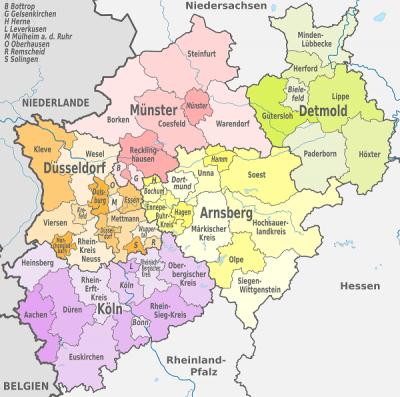 Nordrhein-Westfalen Jugendämter